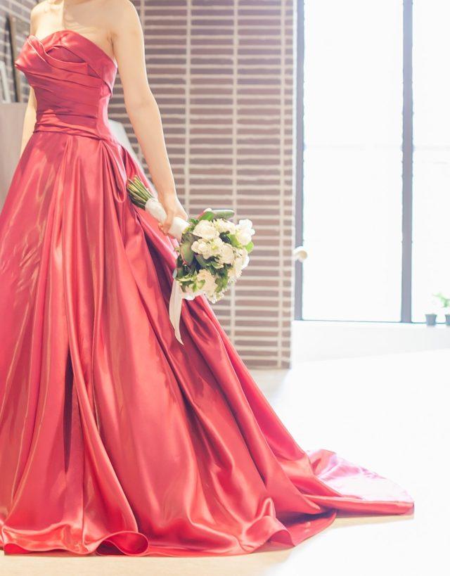 結婚式,装花,メインテーブル,披露宴,ドレス