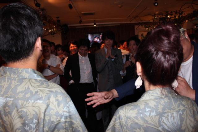 平日,結婚式,二次会,福岡
